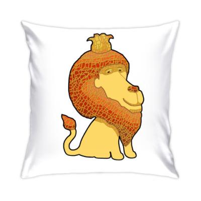 Подушка Очень добрый Лев!