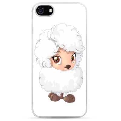 Чехол для iPhone Пушистая овечка