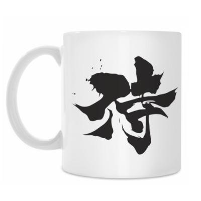 Кружка Samurai (kanji)