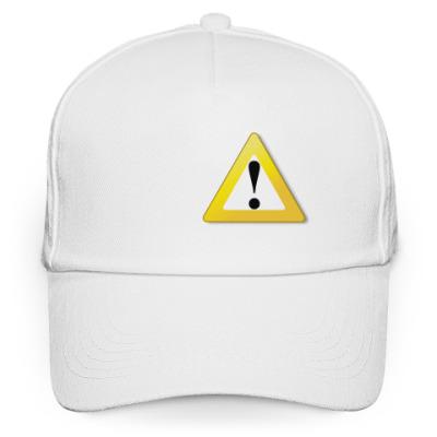 Кепка бейсболка Опасность (warning)
