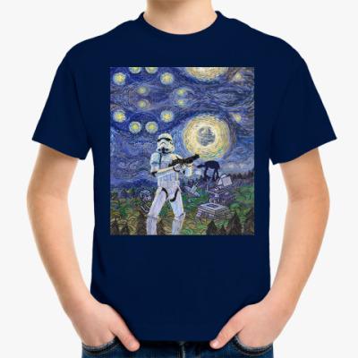 Детская футболка Star Wars Starry Night
