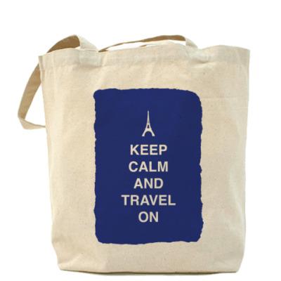 Сумка Keep calm and travel on