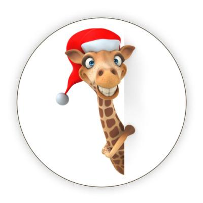 Костер (подставка под кружку) Жираф