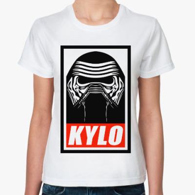 Классическая футболка Кайло Рен (Звездные Войны)