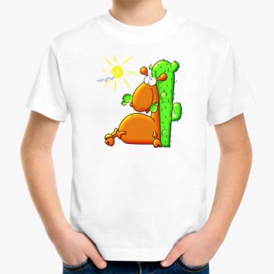 Детская футболка Пустыня