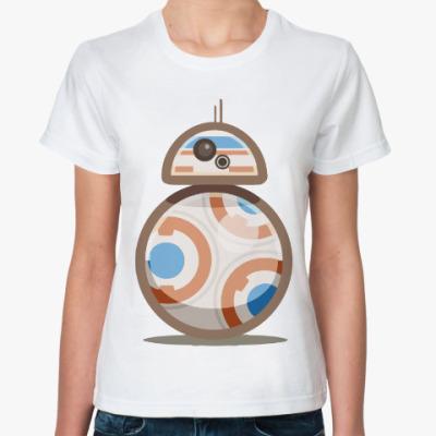 Классическая футболка Дроид BB-8 (Звездные Войны)