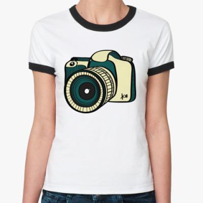 Женская футболка Ringer-T Фото