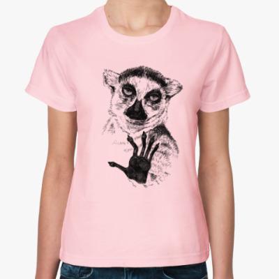 Женская футболка Узбагойся!