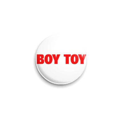 Значок 25мм boy toy