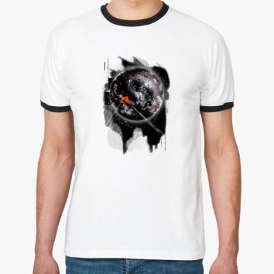 Футболка Ringer-T Dark moon