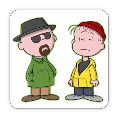 Костер (подставка под кружку) Walter & Jesse