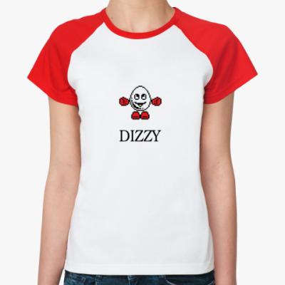 Женская футболка реглан DIZZY