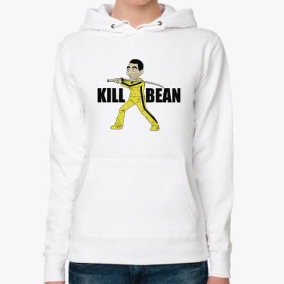 Женская толстовка худи Kill Bean