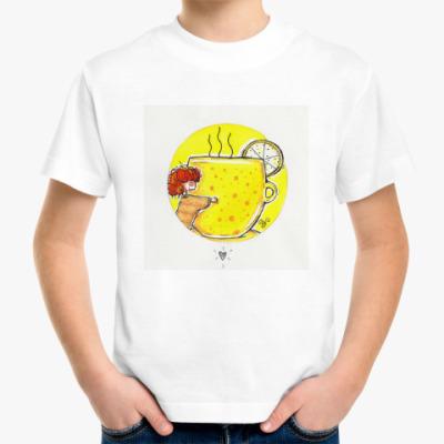 Детская футболка Желтая чашка