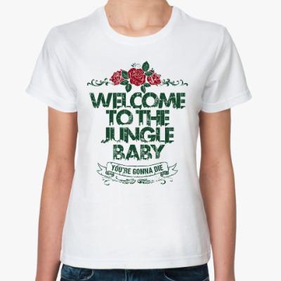 Классическая футболка Guns N'Roses