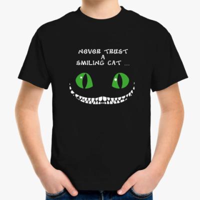 Детская футболка Чеширский кот
