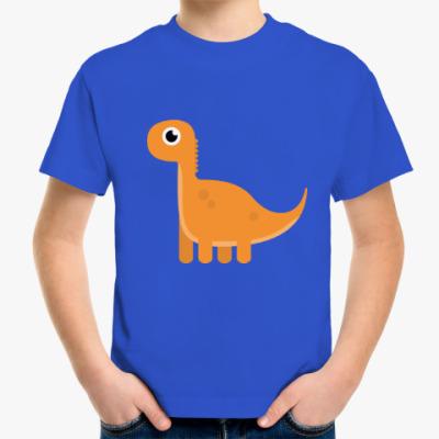 Детская футболка Динозаврик