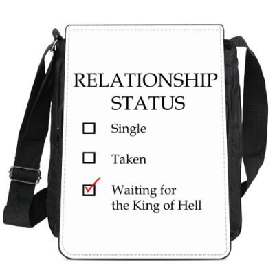 Сумка-планшет В ожидании короля Ада