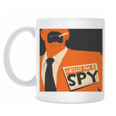 Кружка TF2 Spy