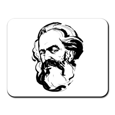 Коврик для мыши   Карл Маркс