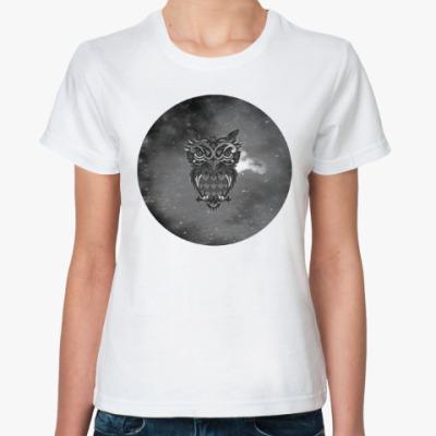 Классическая футболка 'Совушка'