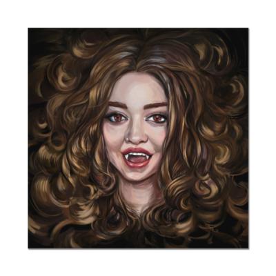 Наклейка (стикер)  Dangerous beauty. Vampire Academy