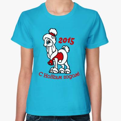 Женская футболка Год козы и овцы 2015
