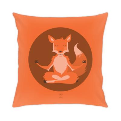 Подушка Animal Zen: F is for Fox