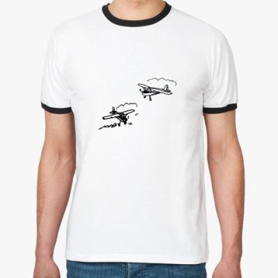 Футболка Ringer-T Два самолётика