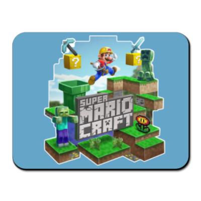 Коврик для мыши Super Mario Craft