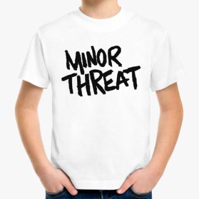 Детская футболка  Minor Threat