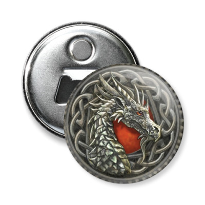 Магнит-открывашка -открывашка Дракон