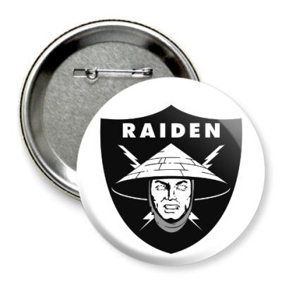 Значок 75мм Raiden Raiders