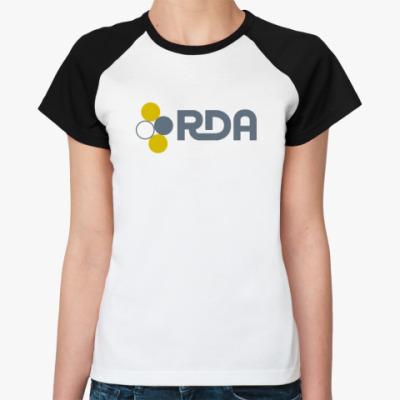 Женская футболка реглан   (AVATAR)