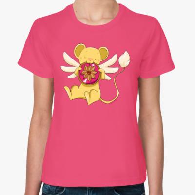 Женская футболка Cardcaptor Sakura Kerberos