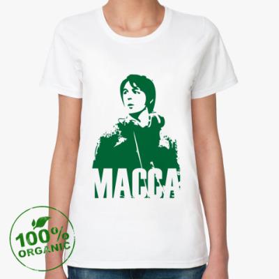 Женская футболка из органик-хлопка Paul Macca