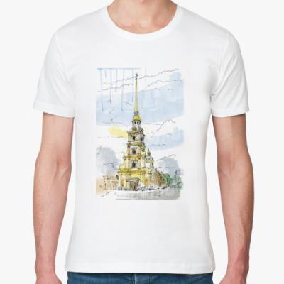 Футболка из органик-хлопка Петропавловская крепость