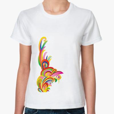 Классическая футболка 'Еще ярче'