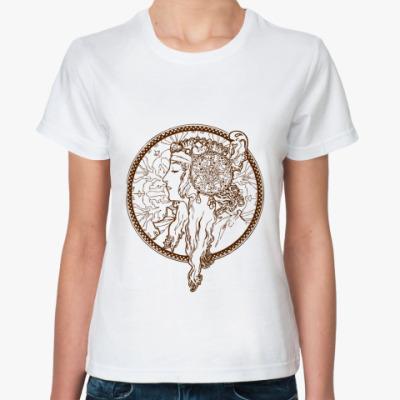 Классическая футболка  Alfons Mucha