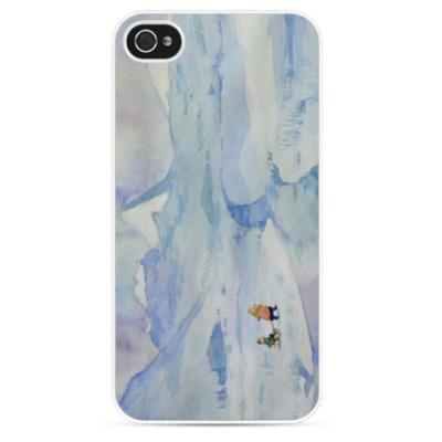 Чехол для iPhone Зимняя прогулка