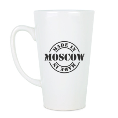 Чашка Латте Made in Moscow