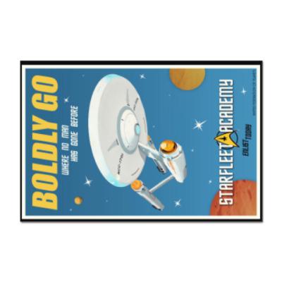 Наклейка (стикер) Star Trek Boldly Go