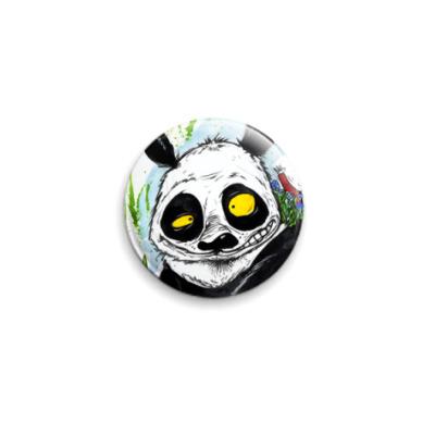 Значок 25мм Панда