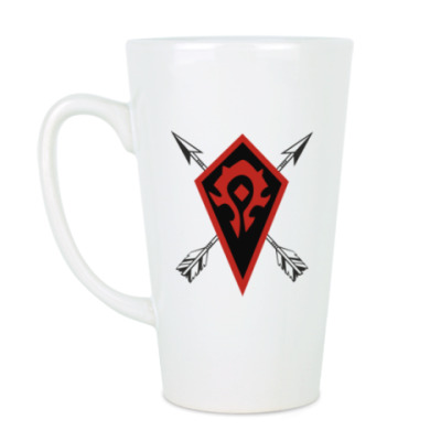 Чашка Латте Warcraft  Орки