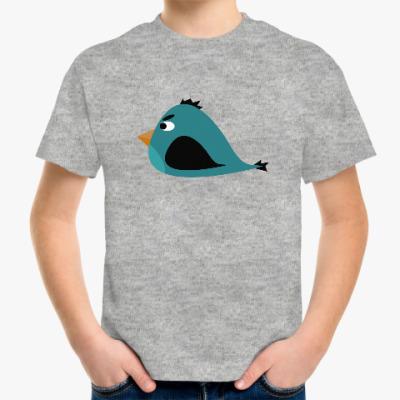 Детская футболка Злая птица