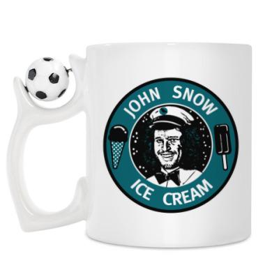 Кружка Джон Сноу - Мороженое