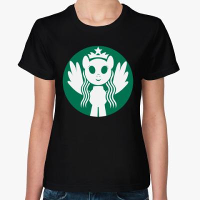 Женская футболка Пони