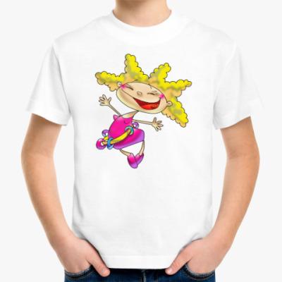 Детская футболка ХОХОТУШКА
