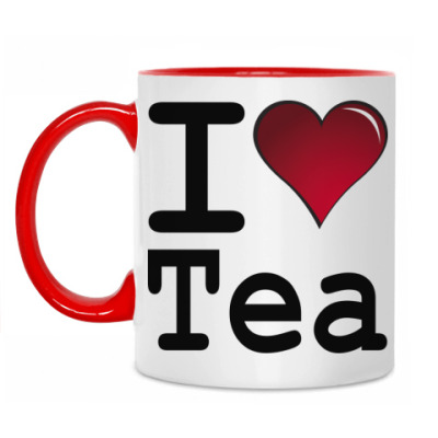 Кружка I love Tea