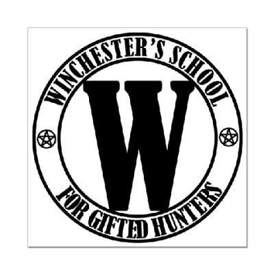 Наклейка (стикер) Winchester's School